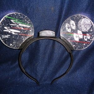 Disney Star Wars Mouse Light Up Ears Headband